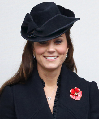 Kate Middleton in Alexander McQueen Coatdress
