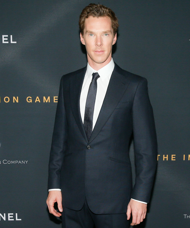 Benedict Cumberbatch at The Imitation Game Screening