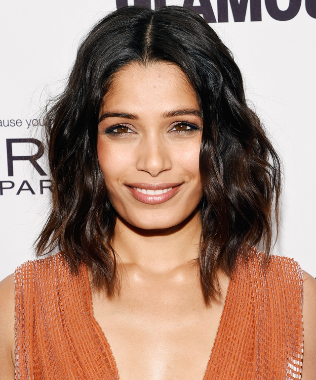 Freida Pinto Haircut