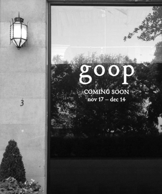 Goop Dallas Pop-Up Shop