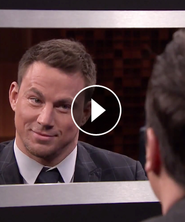 Channing Tatum Play Box of Lies with Jimmy Fallon