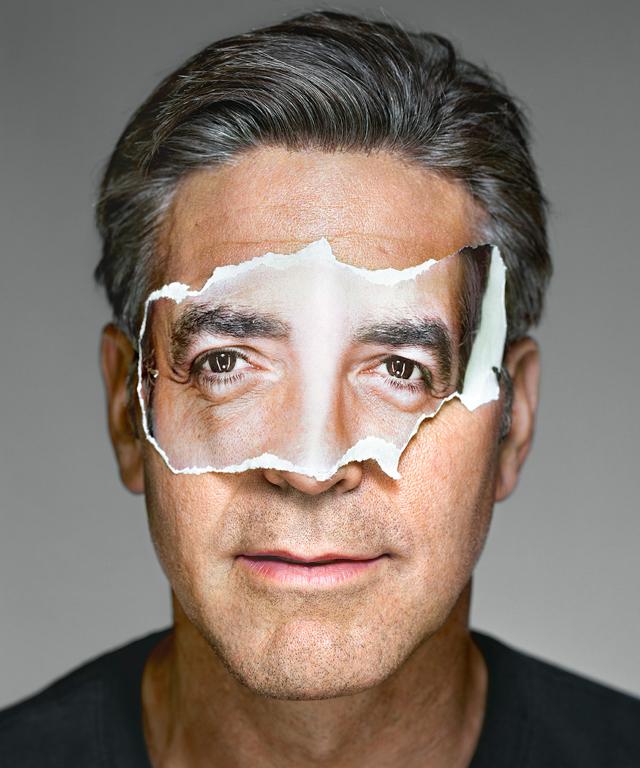 George Clooney Martin Schoeller portrait