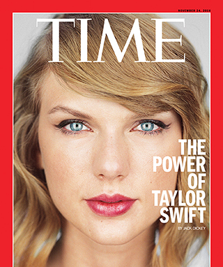 Taylor Swift Time magazine cover