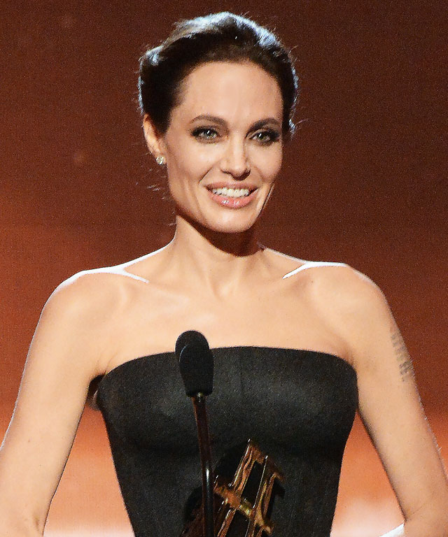 Angelina Jolie at the Hollywood Film Awards