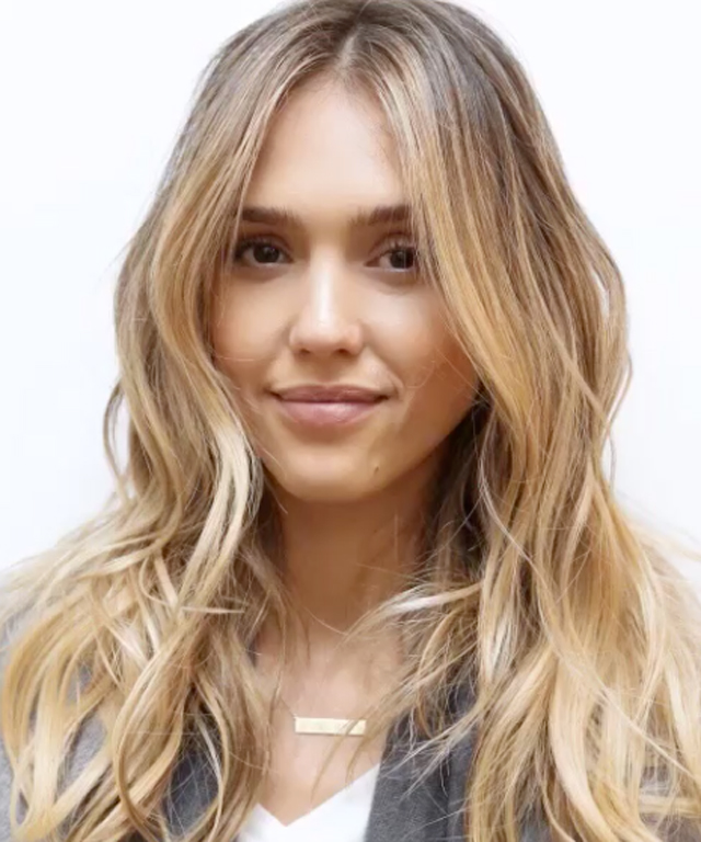 Jessica Alba Blonde Hair