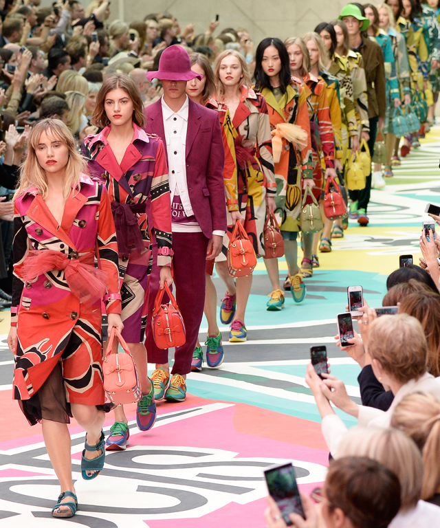 Burberry Receives Rodeo Drive Walk of Style Award