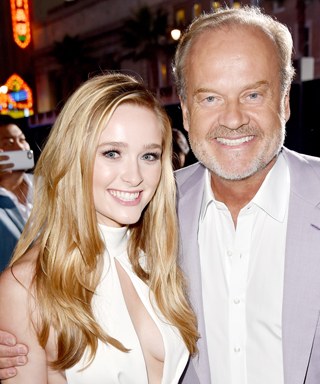 Greer and Kelsey Grammer