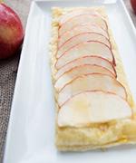 Honey, Goat Cheese, and Apple Tart