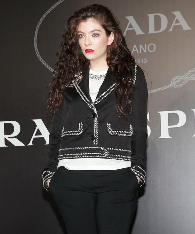 Lorde in Prada