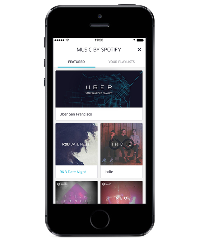 Spotify Partners With Uber