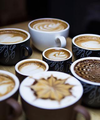 Caffebene latte art