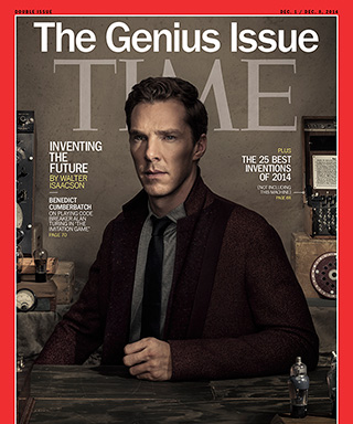 Benedict Cumberbatch TIME Cover