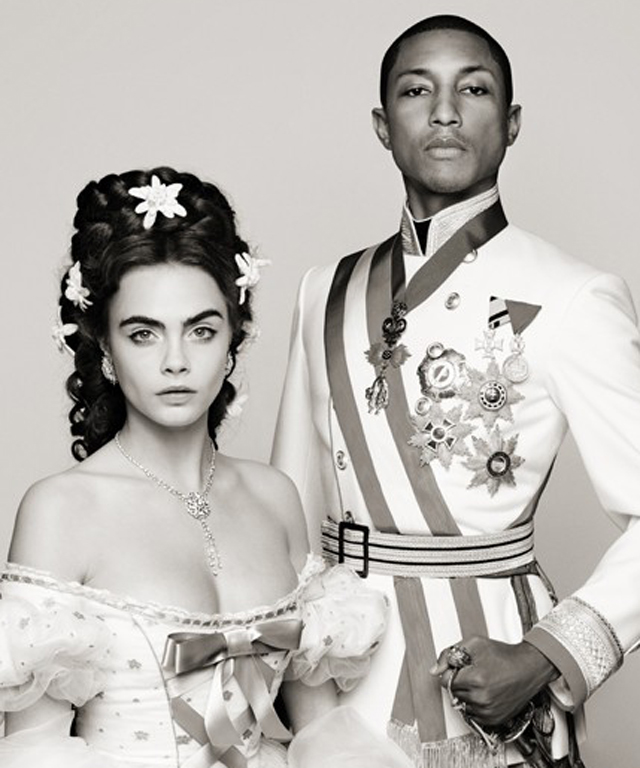 Cara Delevingne and Pharrell Williams in Chanel Short Film