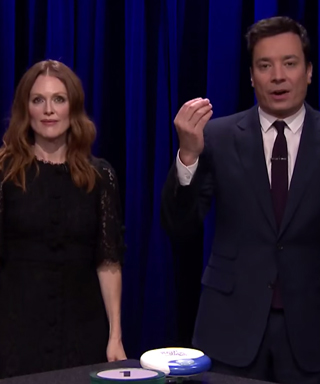 Julianne Moore Jimmy Fallon Tonight Show
