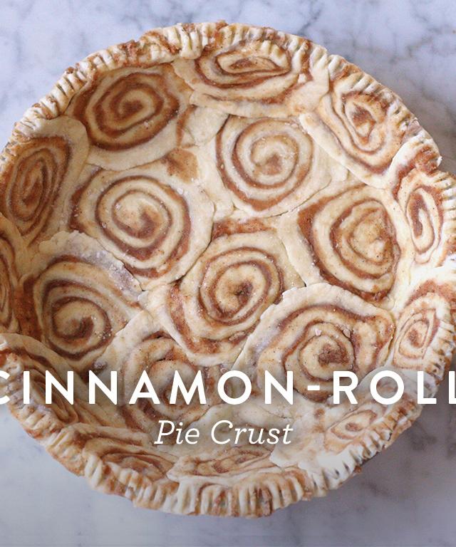 cinnamon roll crust