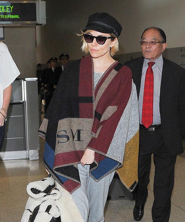 Sienna Miller Airport Style
