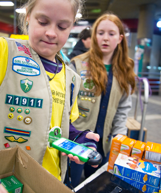 Girl Scouts and Cookies