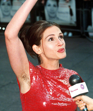 Armpit Hair - Julia Roberts