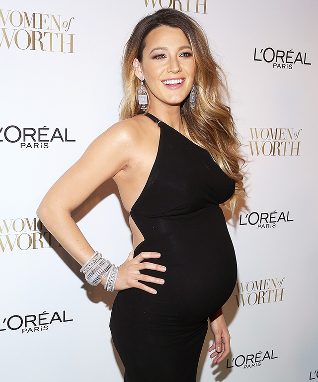 Blake Lively's backless black KaufmanFranco dress