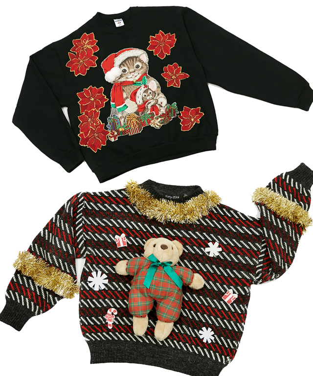 Rent the Runway Ugly Holiday Sweaters