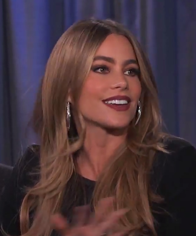 Sofia Vergara on meeting Sophia Loren.