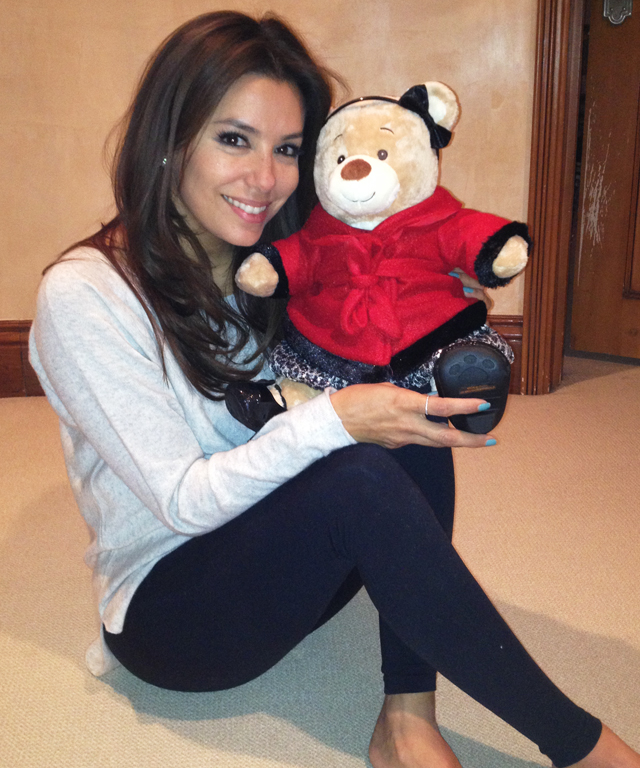 Eva Longoria Operation Bobbi Bear