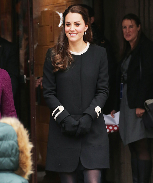 Kate Middleton Wears Goat Coatdress in NYC