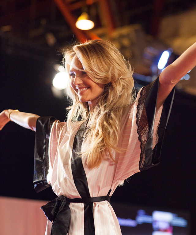 Behind the Scenes with Candice Swanepoel at the Victoria's Secret Fashion Show