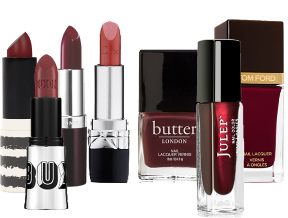 To Help Get You Started We Selected Our Favorite Marsala Hued Lipsticks And Polishes