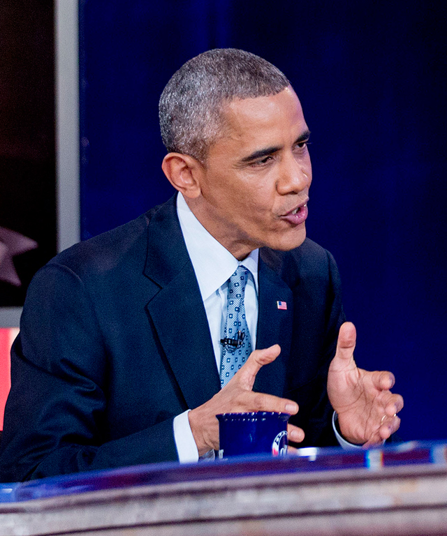 President Barack Obama takes over The Colbert Report