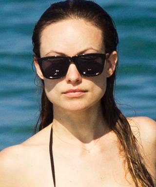 Olivia Wilde Paddleboarding in a Bikini