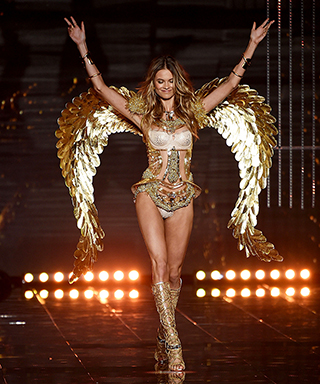 Behati Prinsloo at 2014 Victoria's Secret Fashion Show