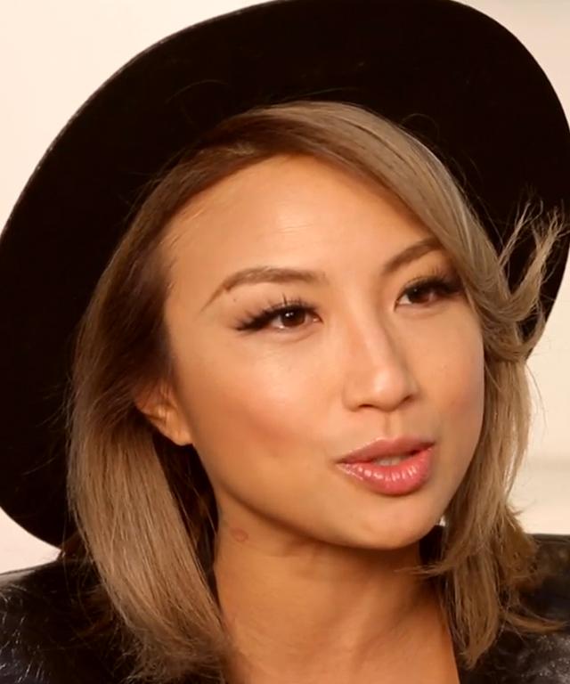 The Climb video: Jeannie Mai