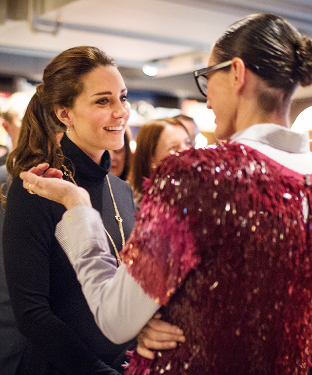Kate Middleton and Jenna Lyons