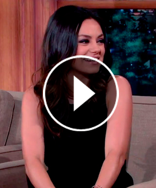 Mila Kunis Talks About Daughter Wyatt on 'Late Late Show'