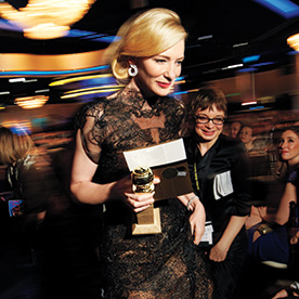 Go Backstage At The 2014 Golden Globe Awards InStyle