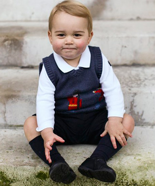 The Many (Adorable) Angles of Prince George of Cambridge - Prince George Spreads Christmas Cheer
