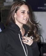 Kate Middleton Wears a Sweatshirt