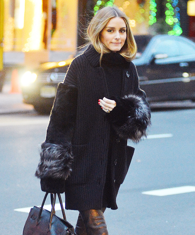 Olivia Palermo Wearing Sneakers