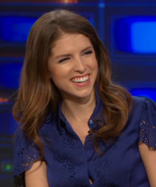 Anna Kendrick Into the Woods Corset Chris Pine Story The Daily Show