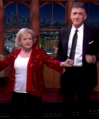 Betty White Christmas Surprise Late Late Show