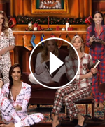 The Victoria's Secret Angels Read 'Twas the Night Before Christmas'