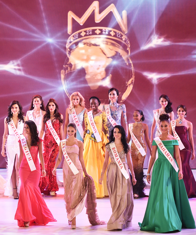 Miss World competitors