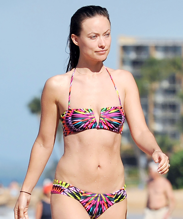 Olivia Wilde in a Mara Hoffman Bikini