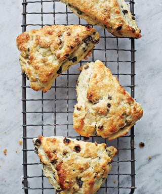 Rosemary and Currant Scones