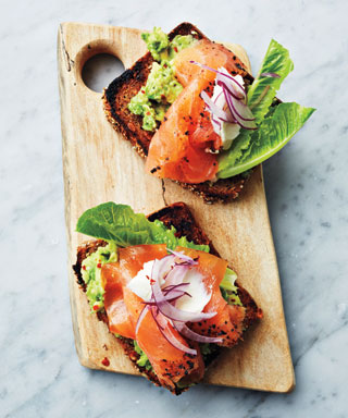 Smoked Salmon Tartinettes