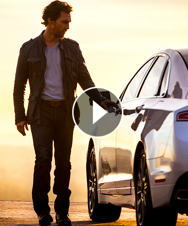 Matthew McConaughey Lincoln MKZ Commercial