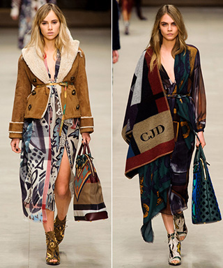 Burberry Fall 2014 LFW