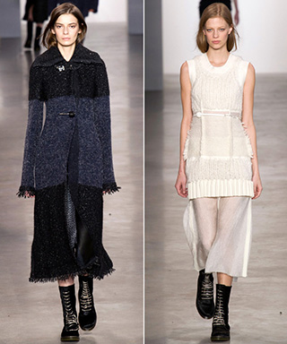 Runway Looks We Love: Calvin Klein Collection