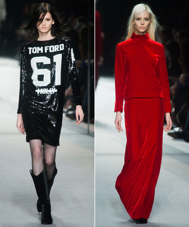 Tom Ford FW 2014 LFW